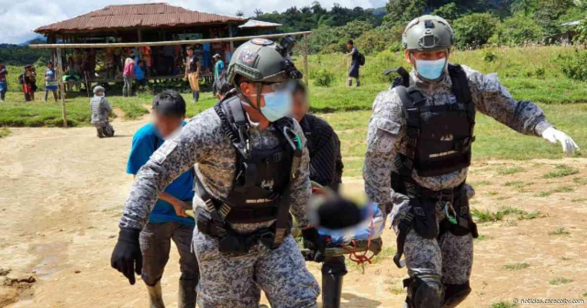 Familia indígena cae en campo minado entre Frontino y Dabeiba - Noticias Caracol