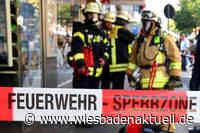 Gasaustritt aus Erdtank im Bereich Gustav-Stresemann-Ring hält die Feuerwehr in Atem