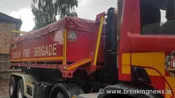 Dublin firefighters tackle blaze in Ballymun - BreakingNews.ie