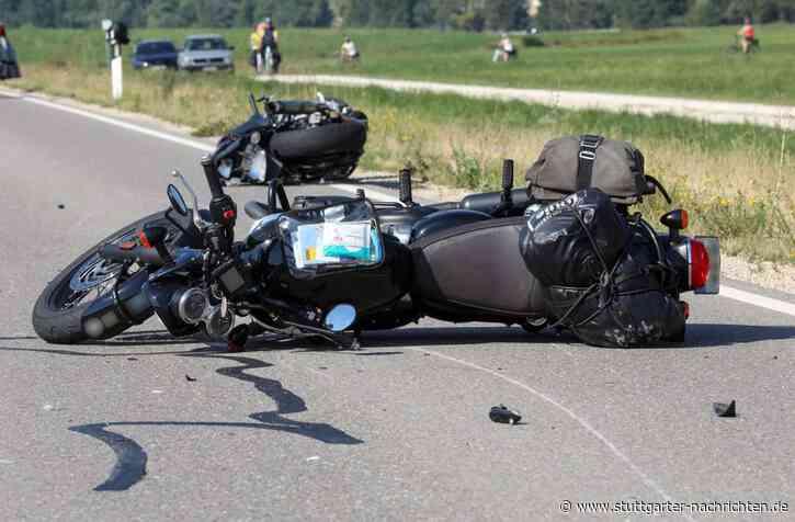 Sigmaringen - Unfall mit fünf Motorradfahrerinnen - Polizei ermittelt Ursache - Stuttgarter Nachrichten