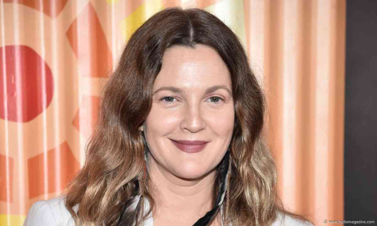 Drew Barrymore shares glimpse inside her very tidy home library