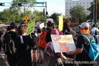 Community members protest police presence in Albuquerque Public Schools - UNM Daily Lobo