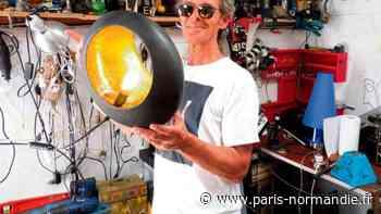 À Octeville-sur-Mer, Christian Arrom récupère et redonne vie à des objets de manière artistique ! - Paris-Normandie