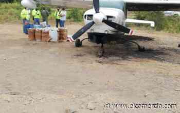 Avioneta realiza aterrizaje forzoso en un ingenio en Milagro; Policía investiga nexo con el narcotráfico