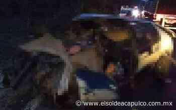 Muere mujer tras accidente automovilístico en la carretera federal Iguala - Ciudad Altamirano - El Sol de Acapulco