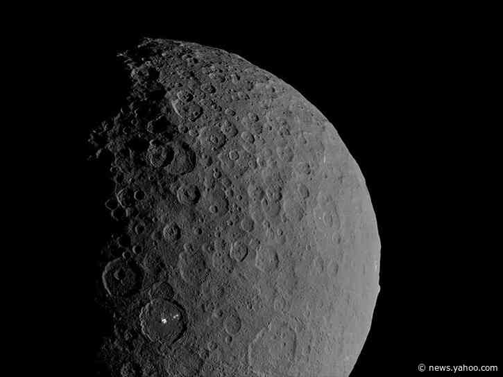 Dwarf planet Ceres is 'ocean world' with salty water deep underground
