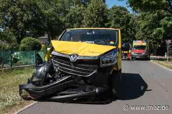 Straßenverkehr: Zwei Verletzte in Fredersdorf-Vogelsdorf nach Kollision - Märkische Onlinezeitung