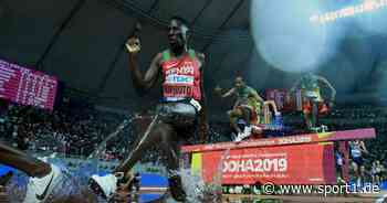 Olympia-Sieger Conseslus Kipruto hat Corona und verpasst Diamond League - SPORT1