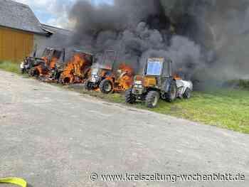 100.000 Euro Schaden: Feuer in Drochtersen vernichtet ganzen Fuhrpark - Kreiszeitung Wochenblatt