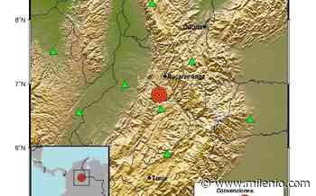 Colombia registra sismo de magnitud 5.5 con epicentro en Zapatoca - Milenio
