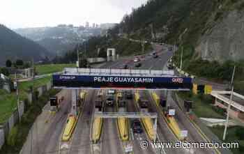 A partir del sábado 15 de agosto del 2020, si cruza el peaje Guayasamín sin tag será multado