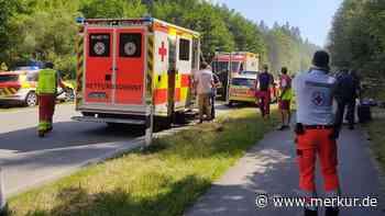 Fünf Verletzte bei Radunfällen - Merkur.de