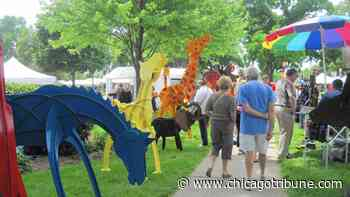 Hinsdale Fine Arts Festival to feature 50 masked artists - Chicago Tribune