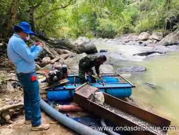 Capturan a siete personas que adelantaban minería ilegal en Armero Guayabal y Falan - Ondas de Ibagué
