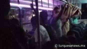 Vuelven a evidenciar exceso de pasaje en transporte público - Turquesa News