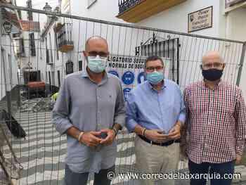Infraestructuras inicia las obras de reurbanización del pasaje Pintor Francisco Hernández - Correo de la Axarquía