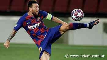 Barcelona, con gol de Messi, le ganó al Nápoli y tiene pasaje para la fase final - Télam