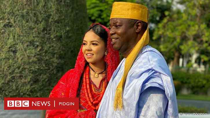 Nigeria billionaire daughter Adama Indimi and Prince Malik Ado Ibrahim wedding fotos and videos wey go totori you - BBC News