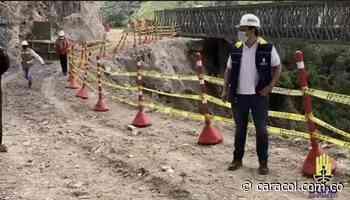 Ultiman detalles para construcción de puente en la vía Curos - Málaga - Caracol Radio