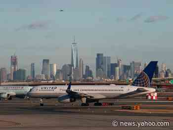 Police searched a United Airlines jet after a reportedly hallucinating passenger claimed there was a bomb on board