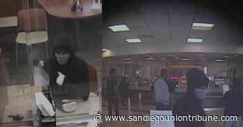 FBI seeks woman in Lemon Grove attempted bank robbery