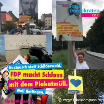 FDP Hattingen verzichtet bei der Kommunalwahl auf Plakate - Hattingen - Lokalkompass.de