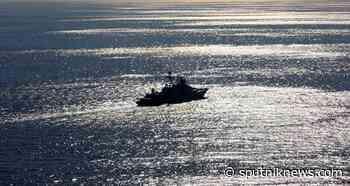 Large Anti-Sub Destroyer Severomorsk Enters English Channel - Northern Fleet - Sputnik International