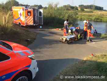 Heißes Wochenende für die Feuerwehr Hattingen: Leinpfad wegen Bergung einer Schwerverletzten gesperrt - Hattingen - Lokalkompass.de