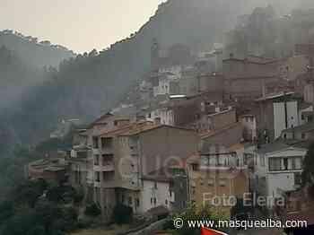 IMÁGENES El incendio de Ayna, visto desde el pueblo - Masquealba.com