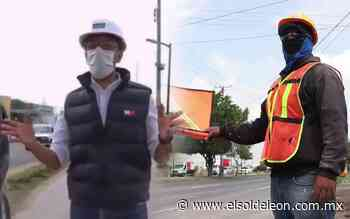 Inicia construcción del puente peatonal del bulevar Vasco de Quiroga y Libramiento Morelos - El Sol de León