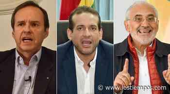 Mesa, Tuto Quiroga y Camacho no van al encuentro convocado por Áñez - Los Tiempos