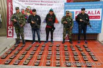 Extranjero se movilizaba con cocaína en Cumbal - Diario del Sur