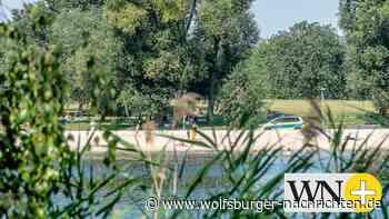 Am Allersee in Wolfsburg war es rappelvoll, aber friedlich - Wolfsburger Nachrichten