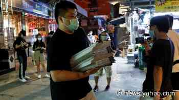 Apple Daily: Hong Kong newspaper defiant after crackdown