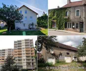 Le Creusot et Région : 20 maisons, appartements ou garage à acquérir - Creusot-infos.com