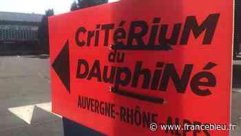 Critérium du Dauphiné : la Ville de Clermont-Ferrand installe la signalétique - France Bleu