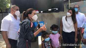 ADN inauguró solución de agua en La Ciénaga - Listín Diario