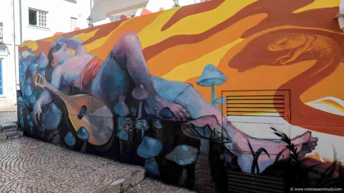 No Algarve? Ruas de Lagos são um verdadeiro museu de arte urbana - Notícias ao Minuto