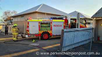 Parkes fire: Electrical fire smothered at Welcome Street business | Photos, pictures - Parkes Champion-Post