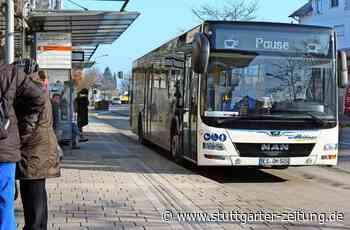 Busverkehr auf den Fildern - Kleine Kritikpunkte statt Beschwerdewelle - Stuttgarter Zeitung