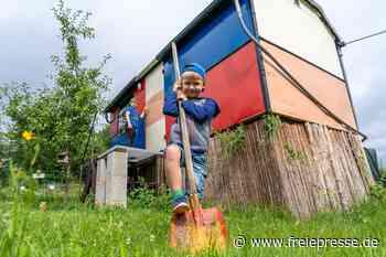 Ein Bauwagen für Garten-Zwerge - Freie Presse