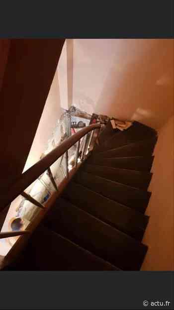Elbeuf. À cause des travaux dans la cage d'escalier, un résident reste bloqué dans son immeuble - actu.fr
