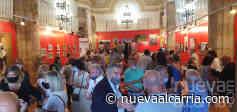Inaugurada la exposición de Fernández Galiano en la ermita de San Roque - nueva alcarria