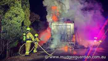 Live Traffic: Truck fire at Turill, motorists delayed overnight | Photos, pictures - Mudgeee Guardian