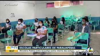 Ministério Público entra na Justiça para suspender volta às aulas em Parauapebas - G1