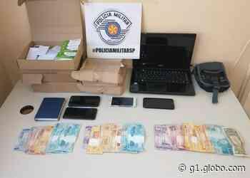 Três colombianos são detidos por suspeita de agiotagem em Presidente Prudente - G1