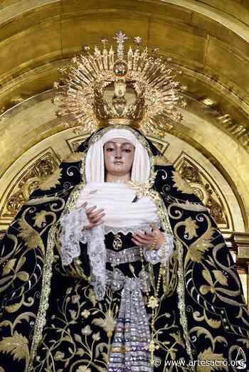Provincia. La Virgen de los Dolores de Alcalá del Río se viste de tiempo estival - Arte Sacro