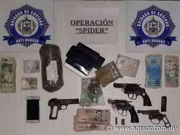 Más detalles de la operación ¨Spider¨ desarrollada en Dolores - agesor.com.uy