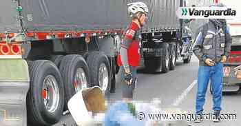 Motociclista herido en la vía Café Madrid - Palenque en Bucaramanga - Vanguardia