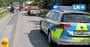 Unfall in Escheburg: Zwei Motorradfahrer zusammengeprallt - Lübecker Nachrichten